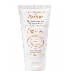 Avène Solaire Crème Minérale SPF50+ Peaux Intolérantes 50 ml pas cher, discount