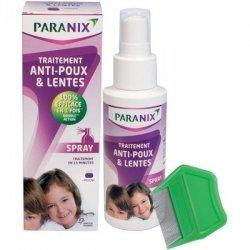 Paranix Anti-poux & Lentes Traitement Spray 100ml + Peigne