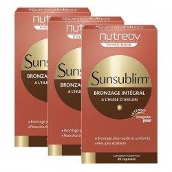 Nutreov Sunsublim Bronzage Intégral 1 Boîte Offerte Lot de 3x30capsules