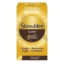 Nutreov Skinsublim Elixir 4 Huiles Précieuses 40 capsules