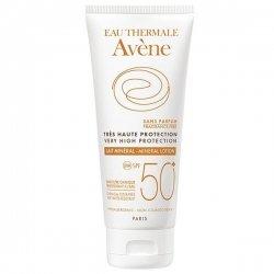Avène Solaire Lait Minéral SPF50+ Sans Parfum Peaux Intolérantes 100ml