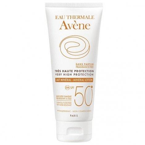 Avène Solaire Lait Minéral SPF50+ Sans Parfum Peaux Intolérantes 100ml pas cher, discount