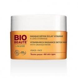 Nuxe Bio Beauté Masque Détox Vitaminé A l'Eau d'Orange Visage 50 ml pas cher, discount