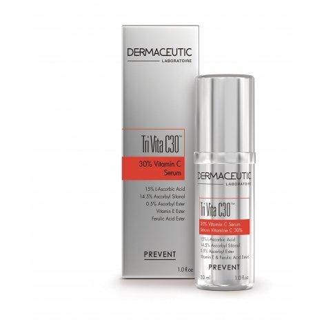 Dermaceutic Tri Vita C30 Sérum 30% Vitamine C 30 ml pas cher, discount