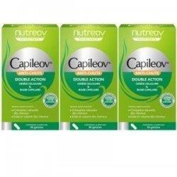 Nutreov Capileov Anti-Chute Double Action 3x30 Gélules