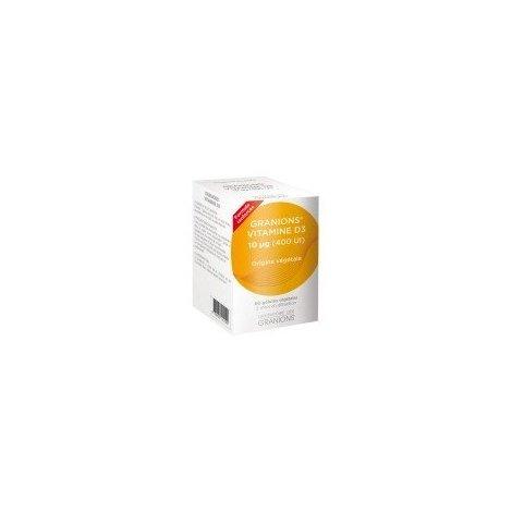 Granions Vitamine D3 10 µg Origine Végétale 60 Gelules pas cher, discount