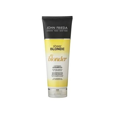 John Frieda Sheer Blonde Shampoing Eclaircissant Go Blonder 250 Ml pas cher, discount