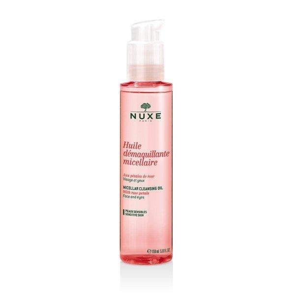 Nuxe huile d maquillante micellaire aux p tales de rose - Huile prodigieuse nuxe pas cher ...