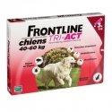 Frontline Tri-Act Chiens 20 à 40 Kg x 3 Pipettes 4 ml