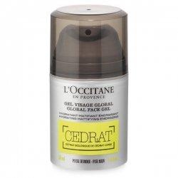 L'Occitane en Provence Cedrat Gel Visage Global Homme 50ml pas cher, discount
