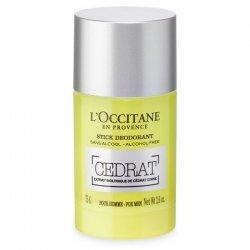 L'Occitane en Provence Cedrat Stick Deodorant Homme 75gr pas cher, discount