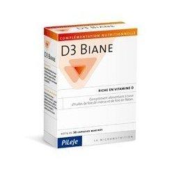 Pileje D3 Biane 30 Capsules pas cher, discount