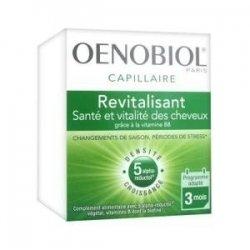 Oenobiol Capillaire Revitalisant Santé et Vitalité des Cheveux 180 Capsules