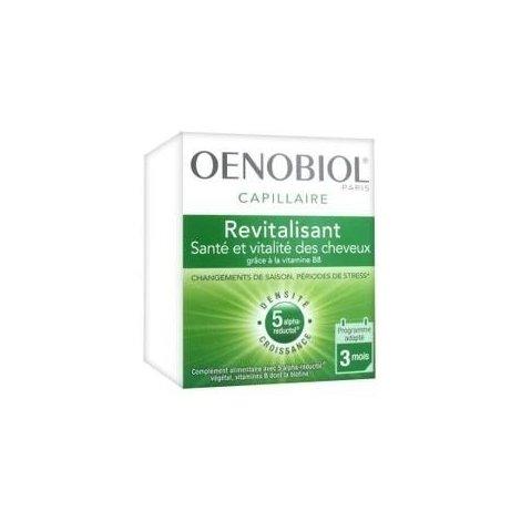 Oenobiol Capillaire Revitalisant Santé et Vitalité des Cheveux 180 Capsules pas cher, discount