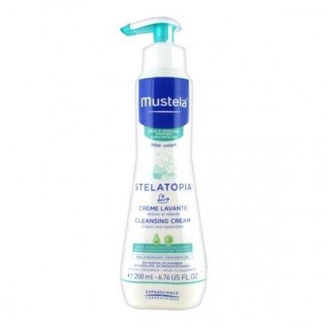 Mustela Bebe Dermo-Pediatrie Stelatopia Crème Lavante 200 ml pas cher, discount