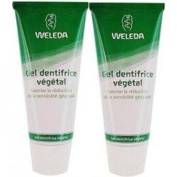 Weleda Duo Gel Dentifrice Végétal 2x75 ml