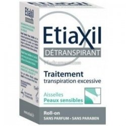 Etiaxil Détranspirant Transpiration Excessive Peau Sensible Roll on 15 ml
