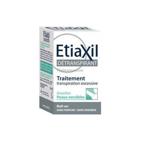Etiaxil Détranspirant Transpiration Excessive Peau Sensible Roll on 15 ml pas cher, discount