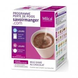 Milical LCD Milk-Shake Saveur Chocolat 4 sachets pas cher, discount