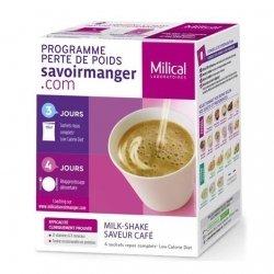 Milical LCD Milk-Shake Saveur Café 4 sachets pas cher, discount