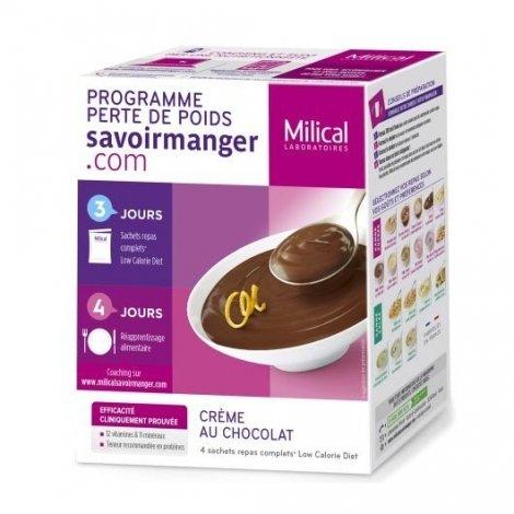 Milical LCD Crème Chocolat x 4 Sachets pas cher, discount