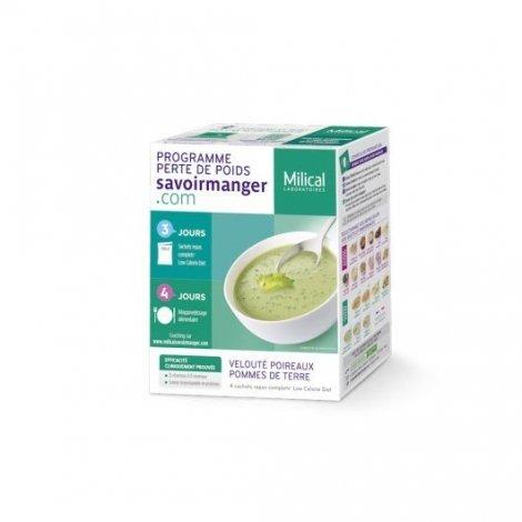 Milical LCD Soupe Poireaux Pommes de Terre x 4 Sachets pas cher, discount