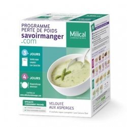 Milical LCD Soupe Asperge x 4 Sachets