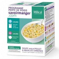 Milical LCD Soupe Nouilles Poulet x 4 Sachets pas cher, discount