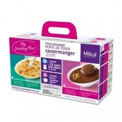 Milical LCD Coffret My Starting Box 12 Sachets pas cher, discount
