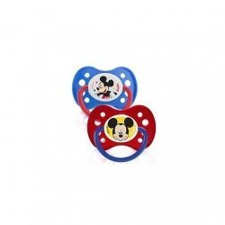 Dodie Duo Sucettes Disney Mickey +6 Mois x2