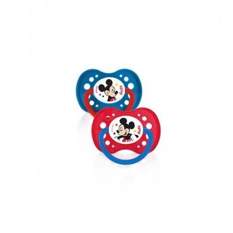 Dodie Duo Sucettes Disney Mickey +18 mois x2 pas cher, discount