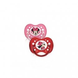 Dodie Duo Sucettes Disney Minnie +18 mois x2