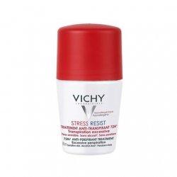 Vichy Déodorant Anti-Transpirant Détranspirant Intensif 72H Roll on 50ml