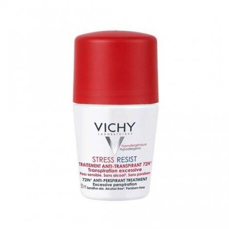 Vichy Déodorant Anti-Transpirant Détranspirant Intensif  72H Roll on 50ml pas cher, discount