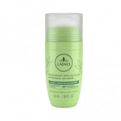 Laino Deodorant Minéral Fraîcheur Thé Vert Roll-on 50ml pas cher, discount