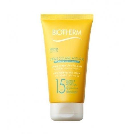 Biotherm Crème Solaire Anti-Age Crème Fondante Visage SPF 15 50 ml pas cher, discount