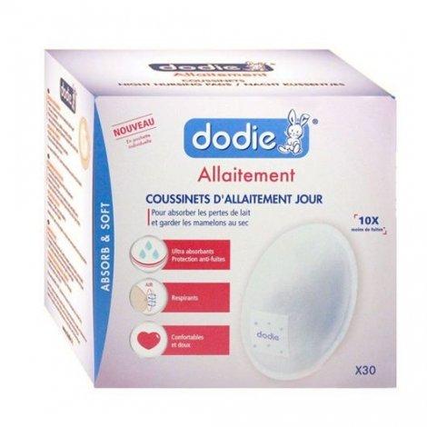 Dodie Coussinets D'Allaitement  Jour x30 pas cher, discount