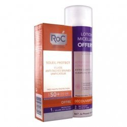 Roc Soleil-Protect Coffret Anti-Taches Visage SPF50+ 250ml pas cher, discount