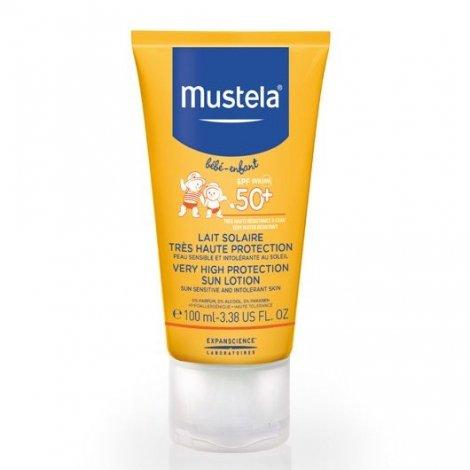 Mustela Lait Solaire Bébé Enfant Très Haute Protection SPF 50+ 100 ml pas cher, discount