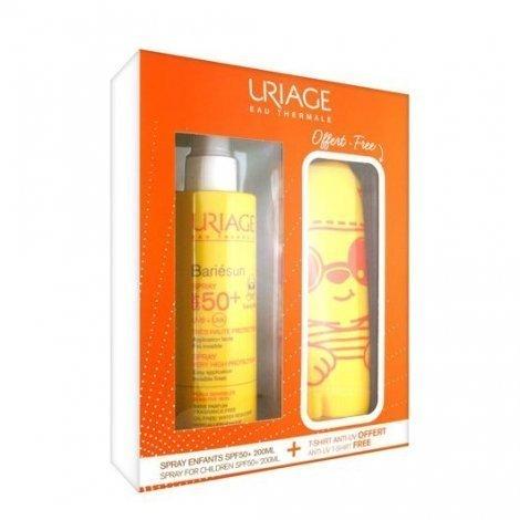 Uriage Bariesun Enfants Spray SPF 50+ 200ml + Tee Shirt Anti UV Offert pas cher, discount