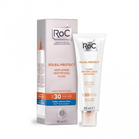 Roc Soleil-Protect Fluide Anti-Brillance Matifiant SPF 30 50 ml pas cher, discount