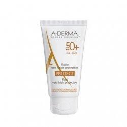 A-DERMA Protect Fluide Très Haute Protection SPF50 40 ml pas cher, discount