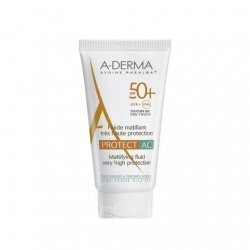Aderma Protect AC Fluide Matifiant Très Haute Protection SPF50 40ml