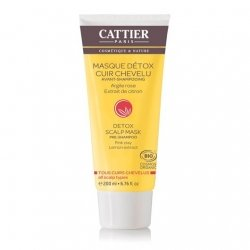 Cattier Masque Détox Avant-Shampoing 200ml