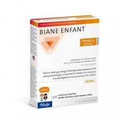 Pileje Biane Enfant Omega 3 Vitamines D et E x27 Pastilles