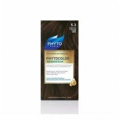 Phytocolor Sensitive Coloration Permanente 5.3 Châtain Clair Doré pas cher, discount