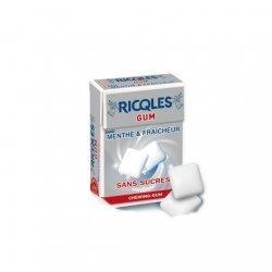 Ricqles Chewing Gum Sans Sucre 24g pas cher, discount