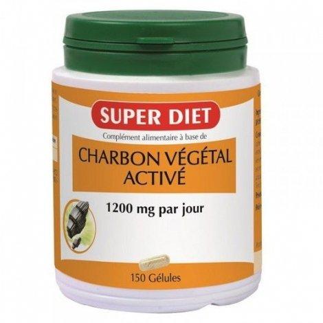Superdiet Charbon Végétal 150 Gélules pas cher, discount