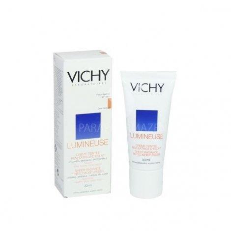 Vichy Lumineuse Creme Teintee Revelatrice D'Eclat Peaux Seches Doree Satinee 30 Ml pas cher, discount