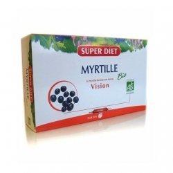 Superdiet Myrtille Bio Vision 20 Ampoules